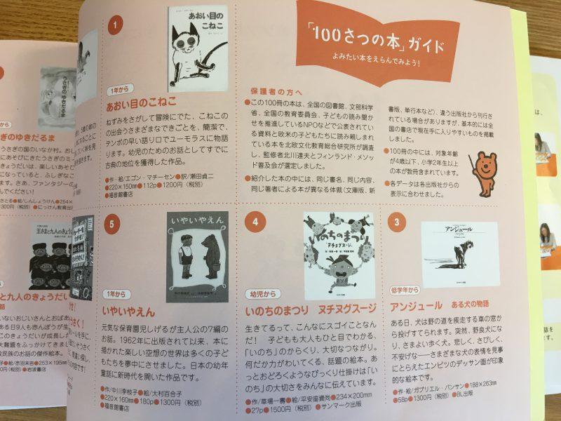 「100さつの本」ガイド