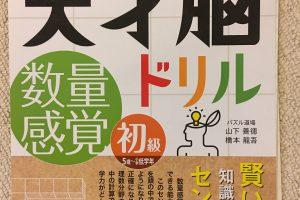 天才脳ドリル 数量感覚/初級 表紙